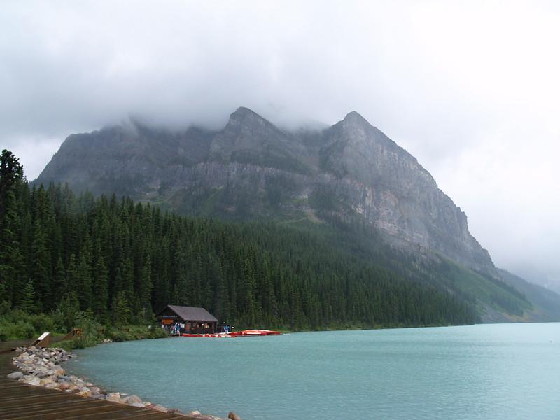 rainy Lake Louise (2006)