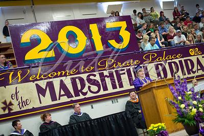Marshfield High School Graduation 2013