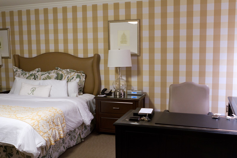 Our room at the Raphael in Kansas City