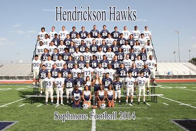 Hendrickson Sophomore Football 2014