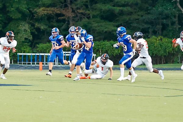 Western versus Charlottesville football fall 2021