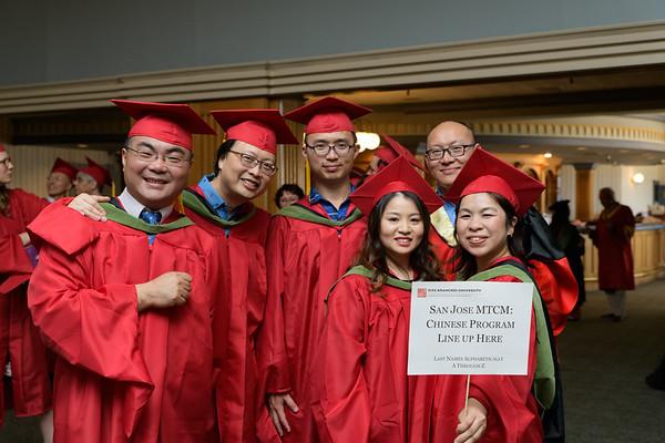 Graduation - Santa Cruz April 2018