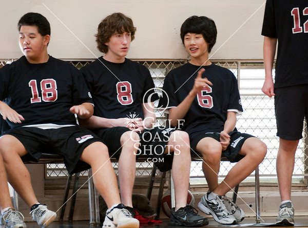 2009-10-27 Volleyball JV2 Boys SJS at Kinkaid