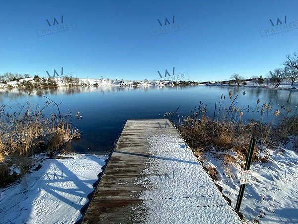 Lake Menno in December