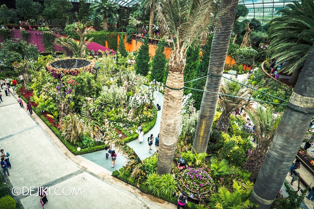 Gardens by the Bay - Orchid Extravaganza 2016 - overview