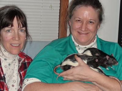 Karen's Adopted Pet Lab Rats