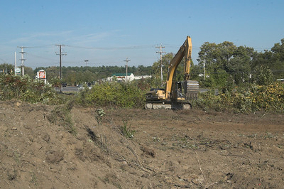 Breaking Ground in front of Shaws Sept 2007