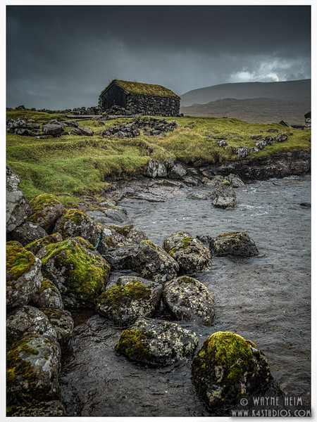 Shelter  In Faroe    Photography by Wayne Heim