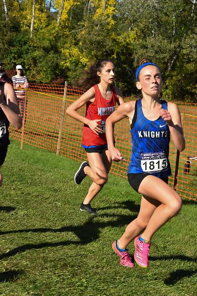 Girls 1 2019 Woods Trail Run 2019-10-05