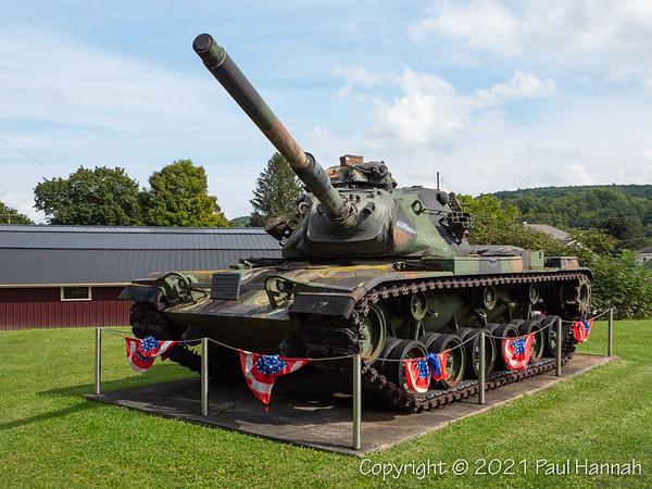 American Legion Post 1582 - Canaseraga, NY - M60A3