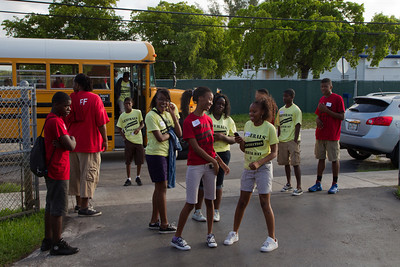July 21st, 2012 Generals Construction Career Day at the Thomas D. Stephanis Boys and Girls Club