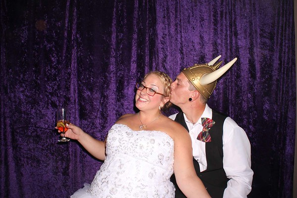 Sarah & Al Wedding Photo Booth