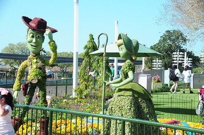 At Disney's Epcot & Disney Srings before closing 2020