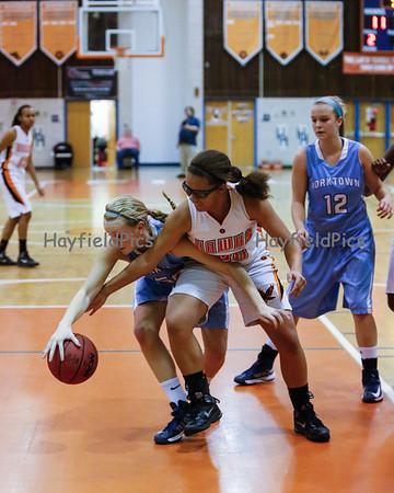 Girls Basketball Yorktown 1/14/13
