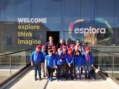 Saturday 10th March - Pack visits Esplora!