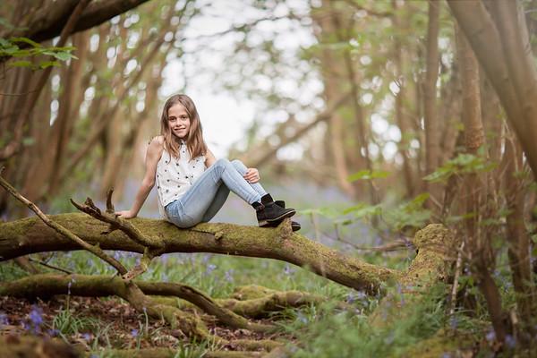 2018 - Family Norwood bluebell shoot 006