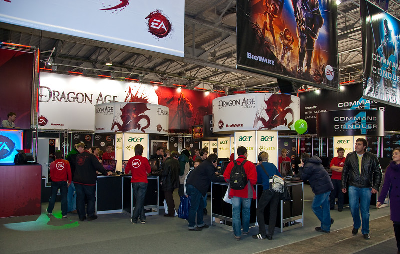 EA booth at Igromir 2009