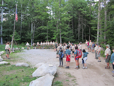 Troop 263 at Camp Bell
