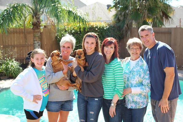 2013 - Mom and Liz visit