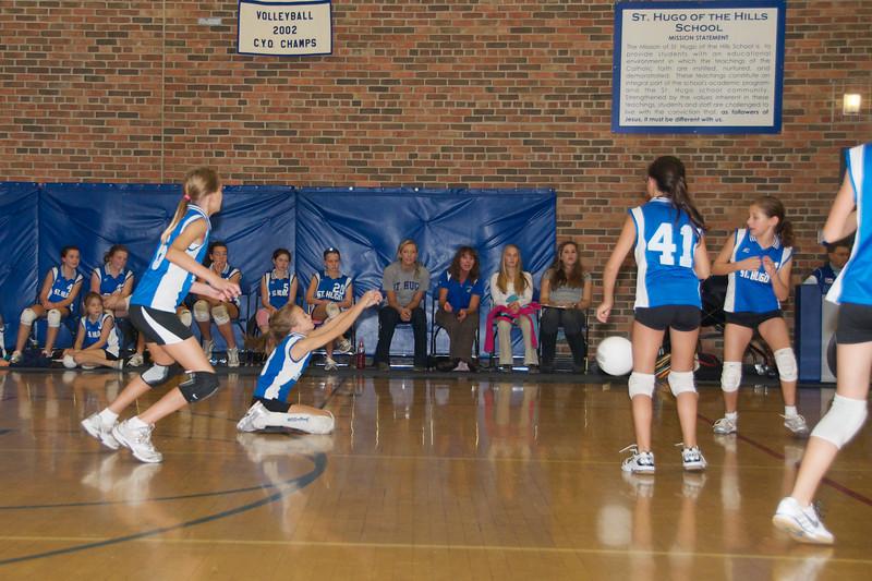 Hugo 5th Grade Volleyball  2010-10-02  2.jpg