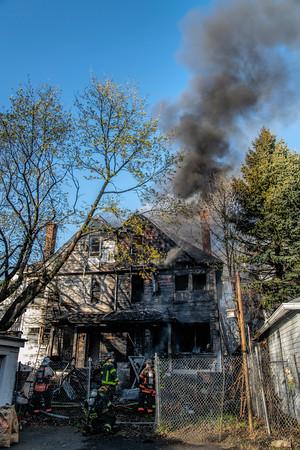 Bridgeport, CT 3rd alarm 331 Park Ave dwelling fire