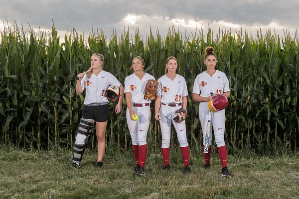 ISU Softball PhotoShoot 08/29/19