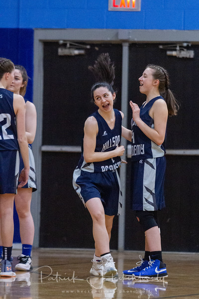 2020-02-20 Hillsdale Academy JV and Varsity Basketball vs. Pittsford