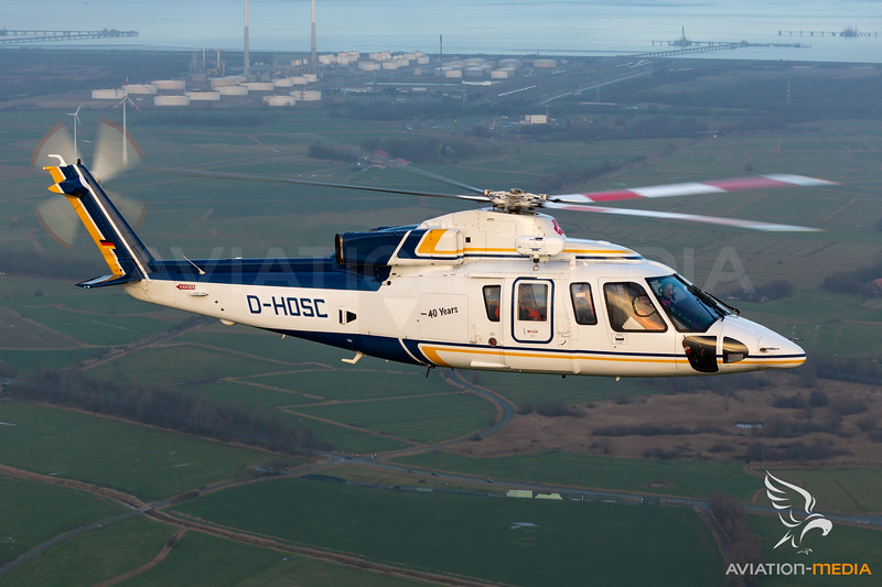 Wiking Helikopter Service / Sikorsky S-76B / D-HOSC