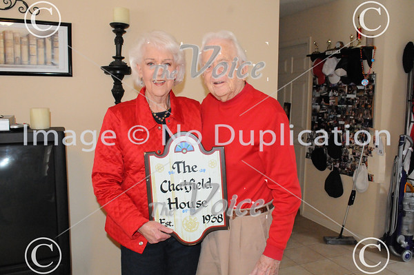 Aurora, Ill couple Dale and Doris Chatfield are contest winners for longest married couple in Illinois 2-14-12