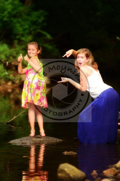 Makayla and Brooke July 2013