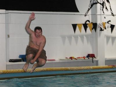 2000 December Campus Swim