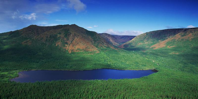 Mont Albert et lac du Diable - Parc national de la Gaspésie, Québec