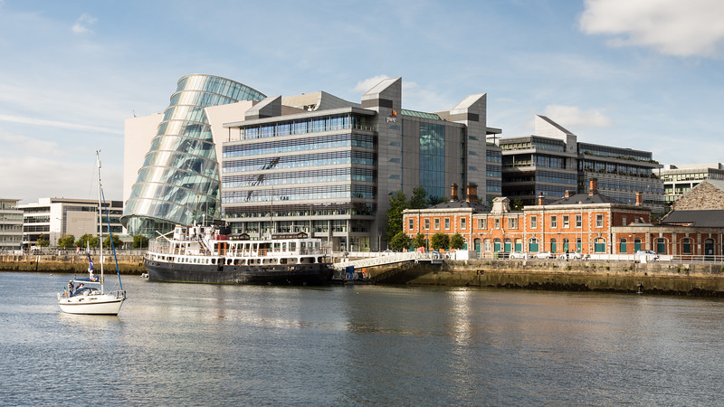 Convention Centre Dublin and MV Cill Airne