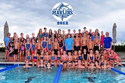 2012 Marlins Team Photo