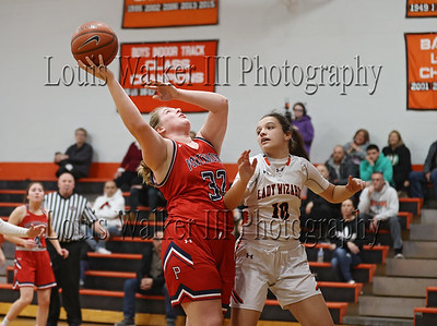 Girls Basketball State Playoffs Portsmouth at West Warwick on 2/12/20