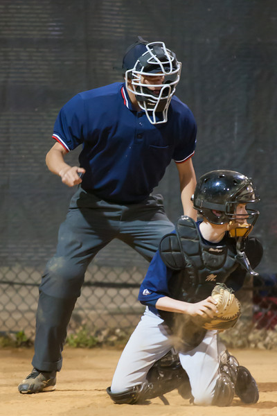 2012 Arlington Little League Baseball, Majors Division. Nationals vs Twins (19 Apr 2012) (Image taken by Patrick R. Kane on 19 Apr 2012 with Canon EOS-1D Mark III at ISO 3200, f2.8, 1/250 sec and 300mm)