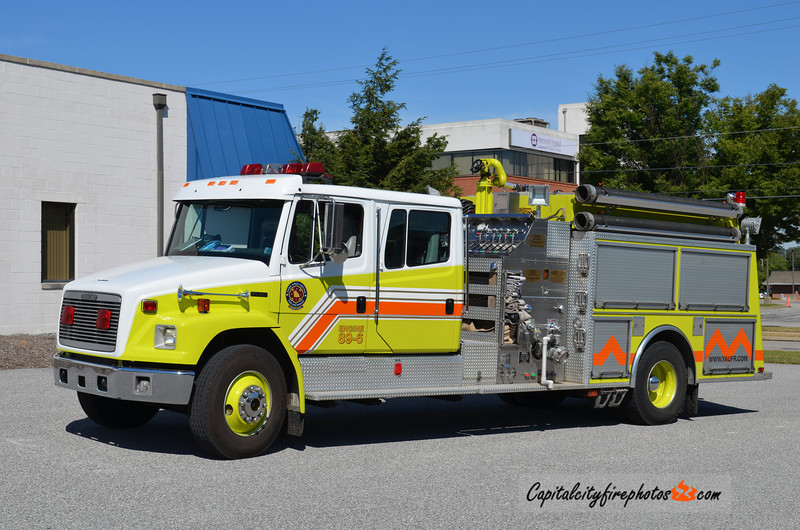 York Area United Fire & Rescue Engine 89-6: 1995 Freightliner/KME 1250/750