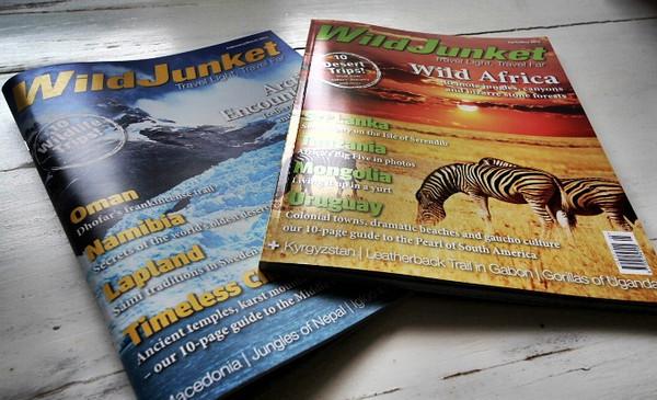 WildJunket Magazine in Print