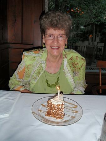 Mom's 77th Birthday - 2010
