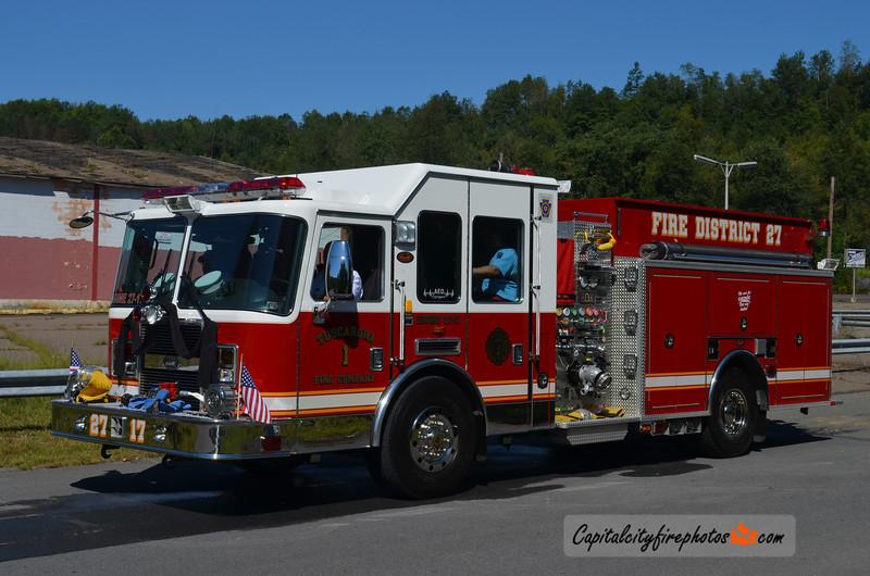 Tuscarora Fire Co. (Schuylkill Township) Engine 27-17: 2007 KME Predator 2000/1000