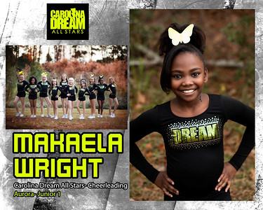 Makaela Wright - Carolina Cheer Aurora
