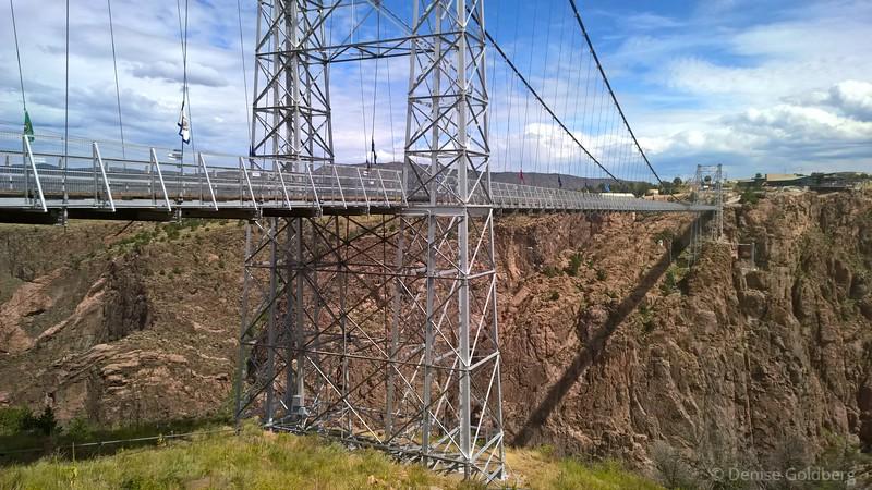 bridge at Royal Gorge, outside of Canon City, Colorado