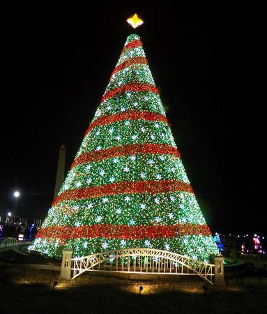 Washington DC Christmas displays 2014
