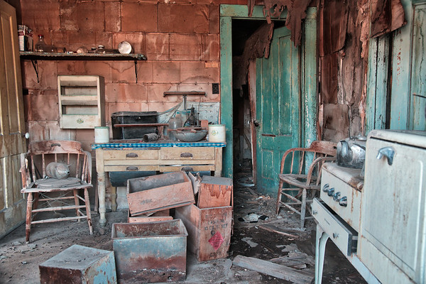 Bodie State  Park - abandoned