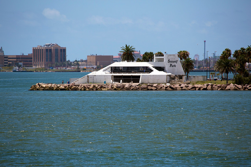 At the tip of Pelican Island is Sea Wolf Park.
