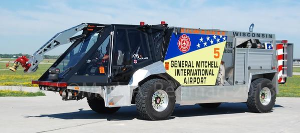 Apparatus Shoot - Various Airport Fire Apparatus, United States - Multiple Dates