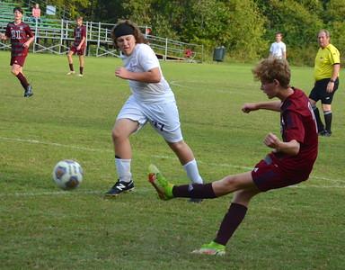 Gibault boys soccer vs. Valmeyer (Regional) - Oct. 9, 2021