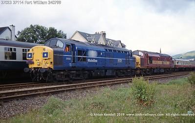 Mainline blue livery
