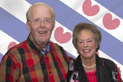 Klaas en Henriëtte 40 jaar getrouwd