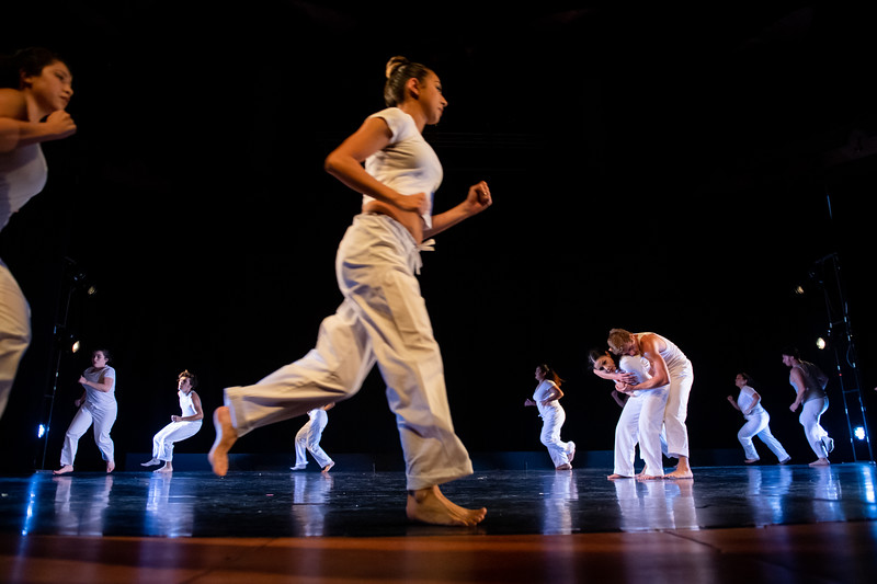 """""""In Full Bloom,"""" choreographed by Brandon Besse, was performed by the Stage Student Dance Organization in the fall 2018 Island Dance Demo."""